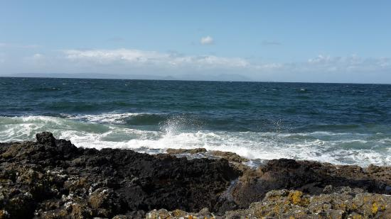 Dunure, UK: this is just below the castle