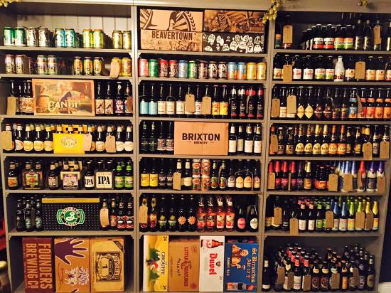 Staffordshire, UK: Our wide range of beers & ciders