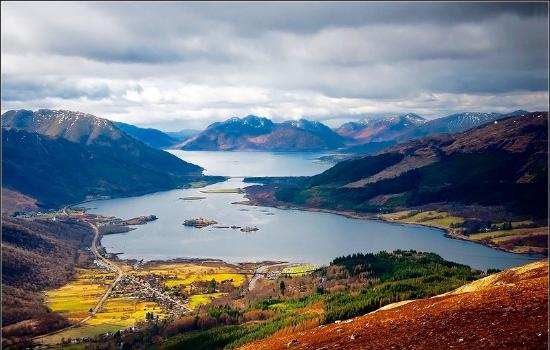 North Ballachulish, UK: highland view Bed and Breakfast Glencoe pap of glencoe