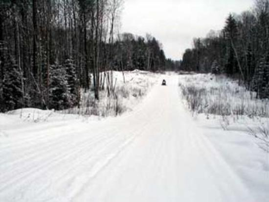 Kirkland Lake, Canada: Directly Accessible By Snowmobile