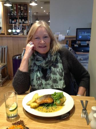 Lunch at the Woodberry Inn, Bridgnorth.