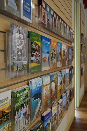 Free Visitor Guides available including local Singleton attractions, and surrounding regions