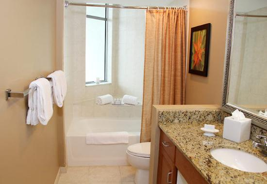 Two Bedroom Suite Bathroom Picture Of Residence Inn Fort Lauderdale Pompano