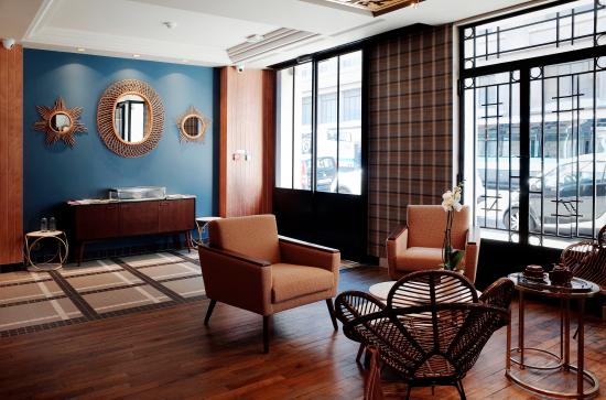 Salon cosy picture of hotel comete paris paris tripadvisor for Photo salon cosy