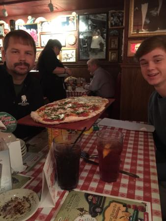 Pineville, NC: The pizza is the best in Charlotte area and it's not even close.  If you like pizza from New Yor