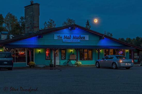Whitney, Canada: Blood Moon over The Mad Musher