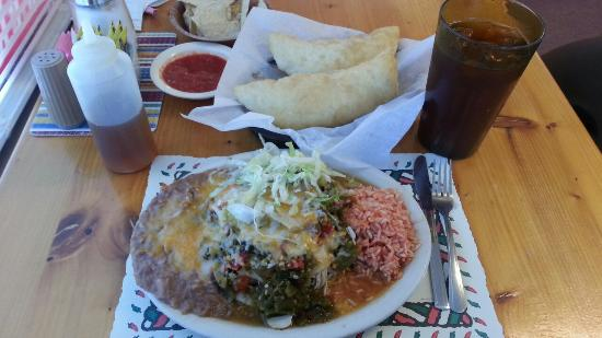 Belen, NM: Chicken Enchiladas
