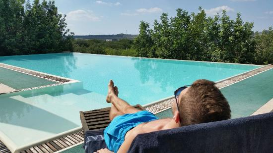 Presicce, Italy: relax in piscina panoramica