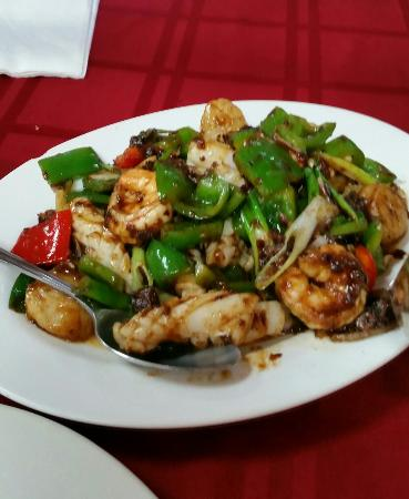 Odenton, MD: Seafood with XO sauce_large.jpg