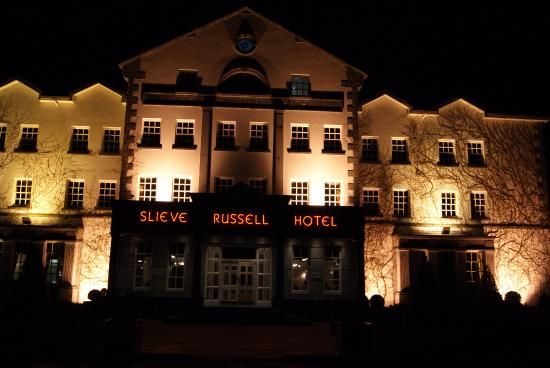 Ballyconnell, Ireland: Slieve Russell by night