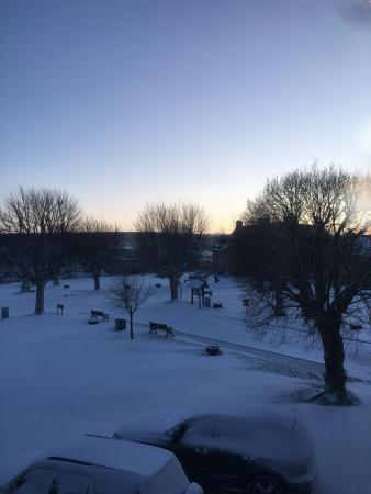 Tomintoul, UK: Our stay in January