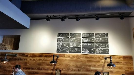 Mamaroneck, NY: Great craft beer selection
