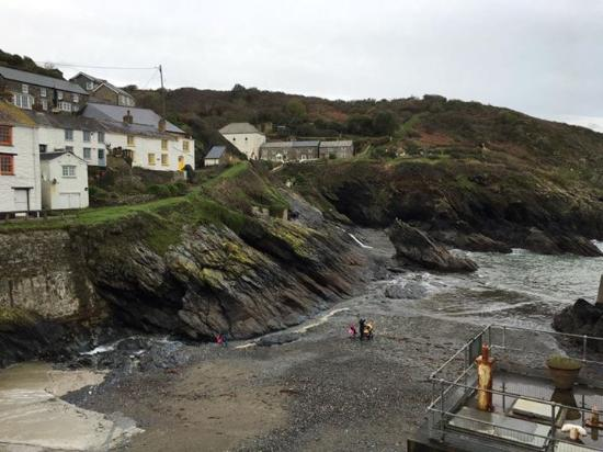 Portloe, UK: A room with a view