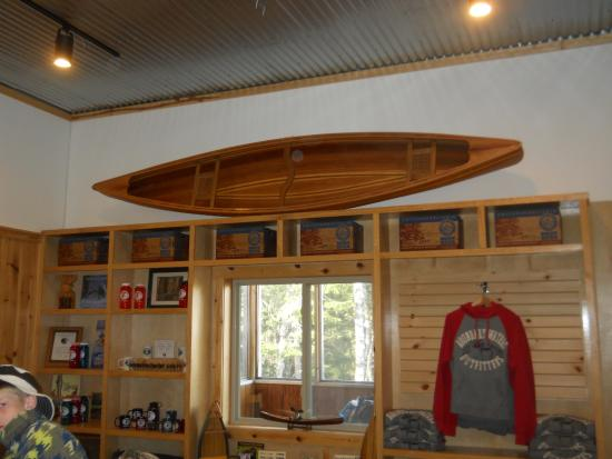 Ely, MN: Inside the Boundary Waters Outfitters Lodge