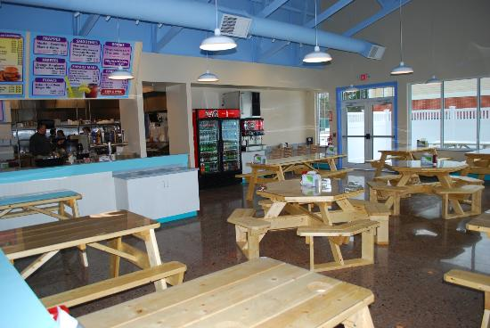 Another view of the dining room at our new Route 125 Epping, NH restaurant.