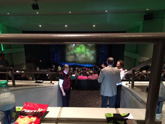 Wicked review of ovens auditorium charlotte nc for Pool and spa show charlotte nc