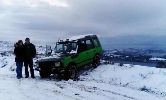 Helensburgh, UK: in all weathers we drive at lcs