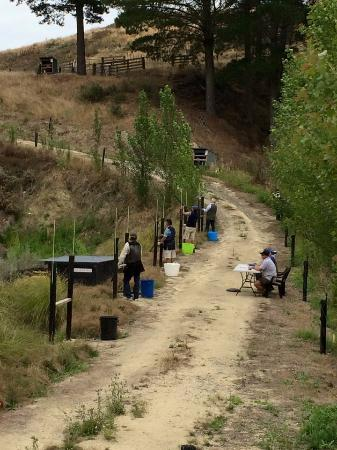 Hawke's Bay Region, New Zealand: Simulated clays across the duck pond