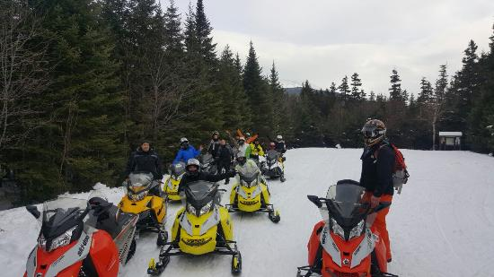 Bartlett, NH: Northern Extremes Snowmobiling - Tours
