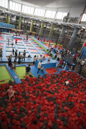Claremont, South Africa: Rush Foam Pit