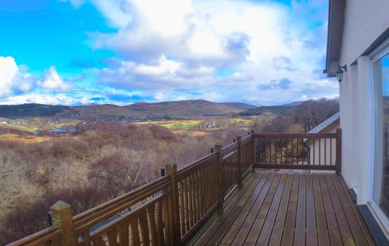 Dervaig, UK: View from our balcony