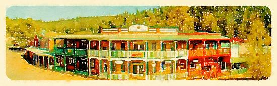 Cloudcroft, NM: Eat, Shop and Play at the Burro Street Exchange