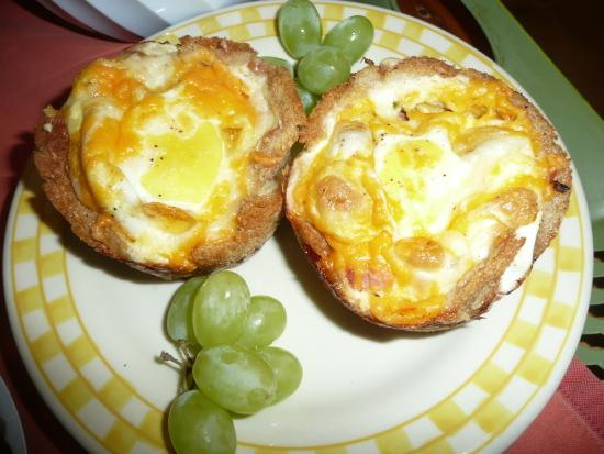 Sturgeon Bay, WI: Baked egg cup