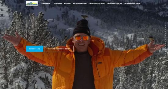 Squaw Valley, CA: High Alpine Tahoe Guided Snowshoe Wildlife Tours