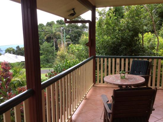Eagle Heights, Australia: Our secluded balcony