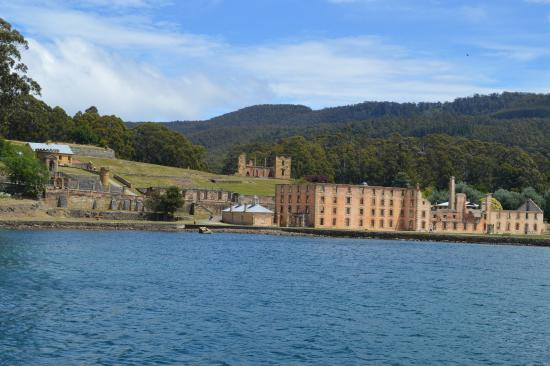 Port Arthur, Australia: A boat ride gives you a view of the complex.