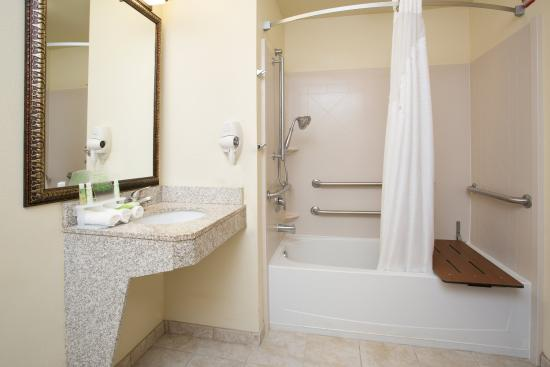 Las Vegas, NM: ADA/Handicapped accessible bathroom with mobility tub