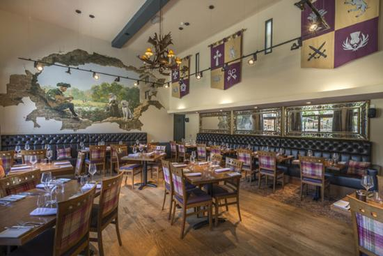 Oundle, UK: The Talbot Hotel Eatery Bre