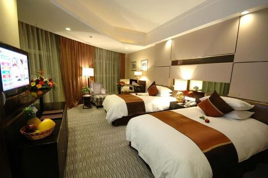 Haining, China: Deluxe Twin Room