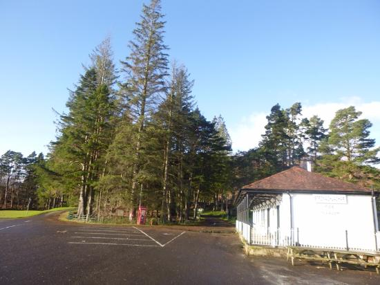 Stronachlachar, UK: Ample parking available too