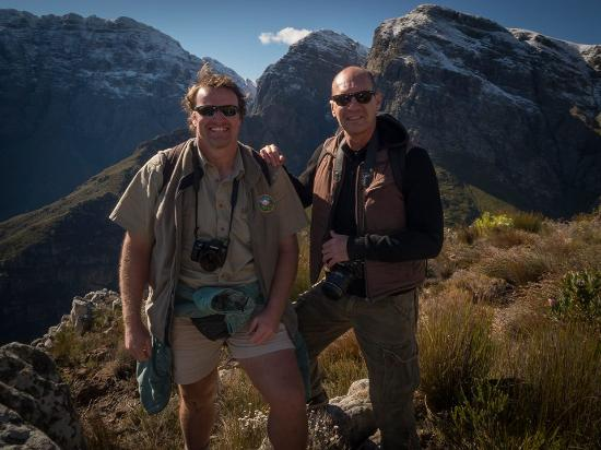 Strand, South Africa: Steven Greaves & Andreas Groenewald - Your Hosts