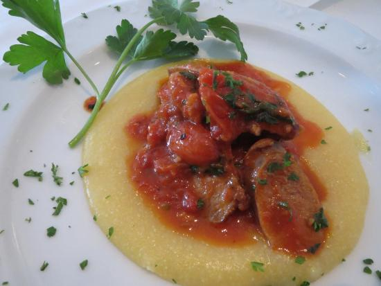 Fairfax, VA: Sausge with Polenta