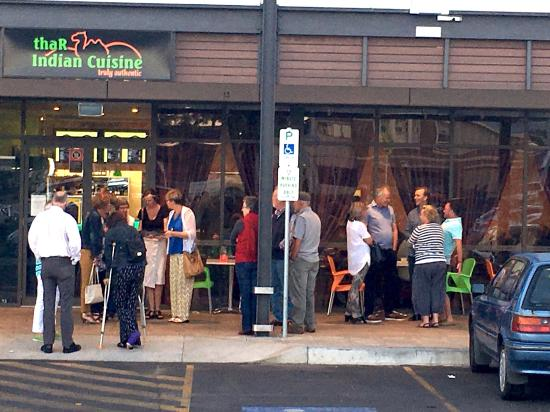 Orange, Australia: you need to make reservations week in advance, or wait in extremely long lines if you want a tab