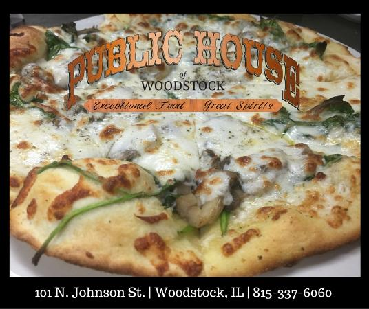 The Public House of Woodstock Homemade Pizzas