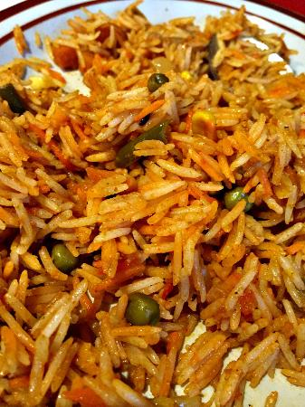 Orillia, Canada: Vegetable Biryani.