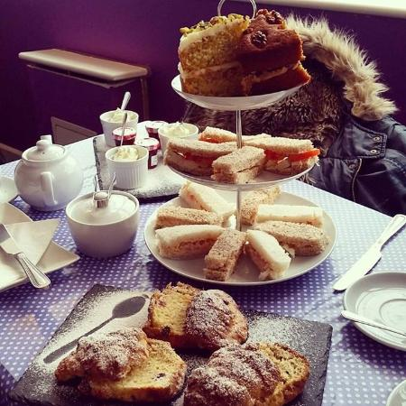 Bexhill-on-Sea, UK: Afternoon tea for three