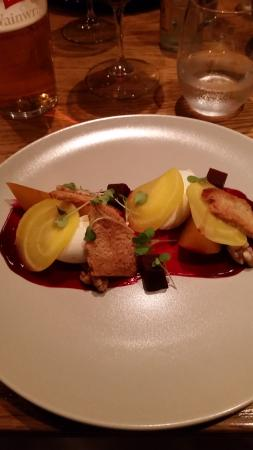 Kirkby Lonsdale, UK: Goats Cheese