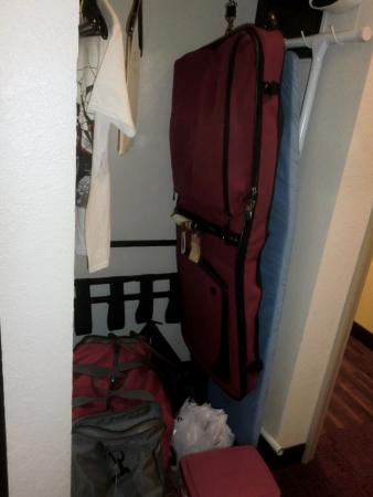 Ample closet space picture of red roof inn locust grove for Ample closet space