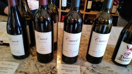 San Carlos, CA: Another good day of wine tasting.
