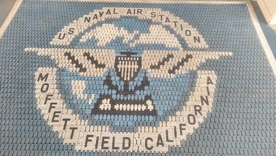 Mountain View, CA: Entrance mat to the museum.