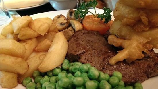 Market Rasen, UK: rump steak