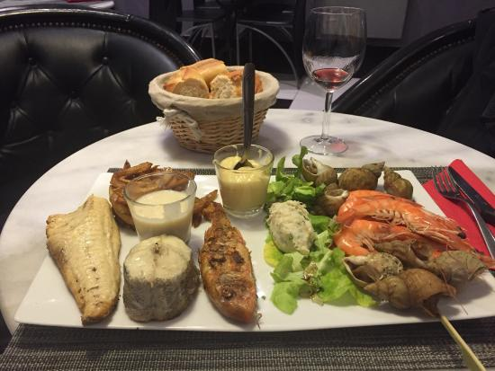 What a wonderful meal on my first night in Libourne.