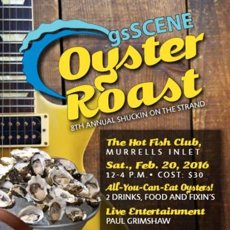 Murrells Inlet, SC: Largest Oyster Roast on the Grand Strand