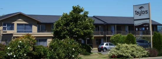 Ashburton, New Zealand: Taylors Motel from the street