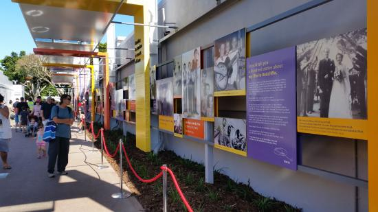 Redcliffe, Australia: Some of the many photos along Bee Gees Way