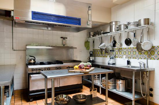 Ojo Caliente, NM: Two commercial kitchens on site for guest's enjoyment